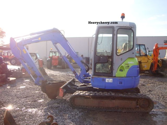 2002 Hitachi  airman ax40u Construction machine Mini/Kompact-digger photo