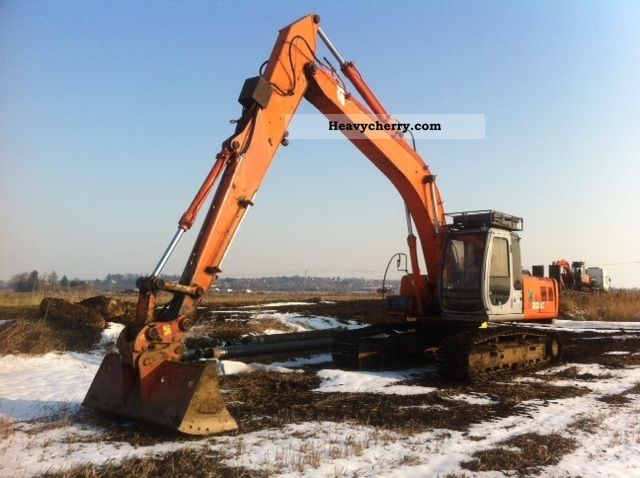 1996 Hitachi  EX 200 LC-5 Longreach Construction machine Caterpillar digger photo