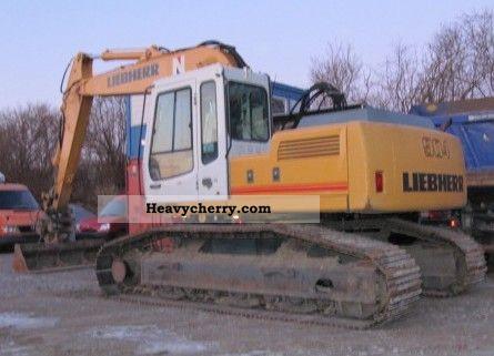1999 Liebherr  904 Construction machine Caterpillar digger photo