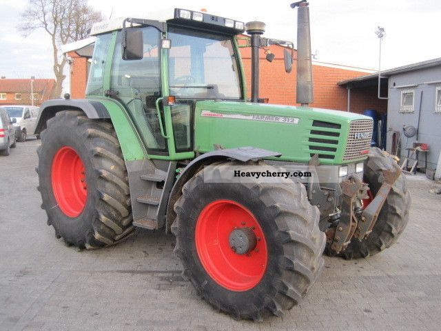 1995 Fendt  312 LSA FH DL found. Strut 1.Hand top condition Agricultural vehicle Tractor photo