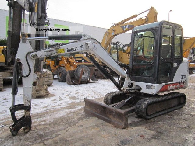 2001 Bobcat  331 Construction machine Mini/Kompact-digger photo