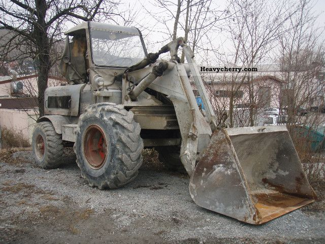 1956 Ahlmann  A 2 Construction machine Wheeled loader photo