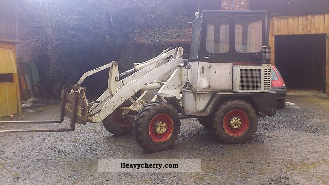 1986 Ahlmann  Joggers 700 Construction machine Wheeled loader photo