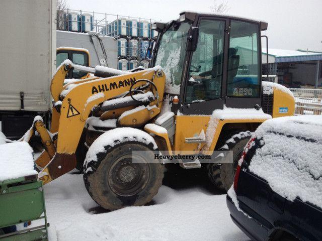 2008 Ahlmann  AS 90 pan shovel loaders Hubwegsfederung + Construction machine Wheeled loader photo