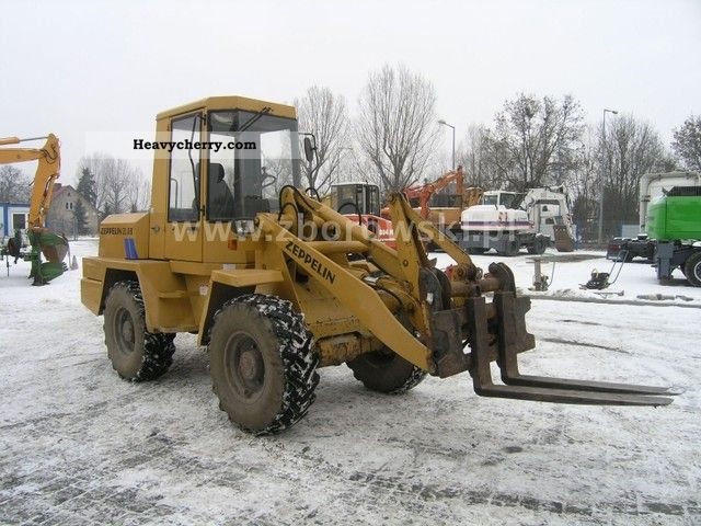 1992 Zeppelin  ZL 8B ładowarka czołowa Construction machine Wheeled loader photo