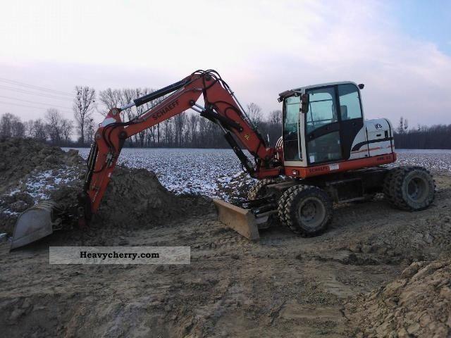 2006 Schaeff  TEREX HML42 Construction machine Mobile digger photo