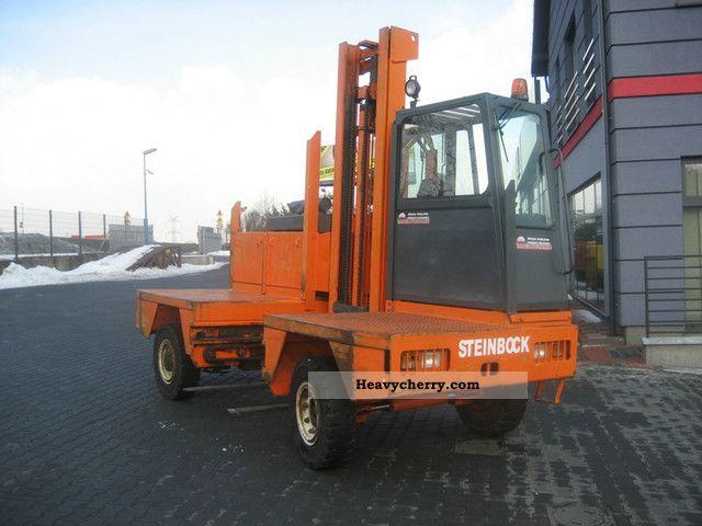 1999 Steinbock  546-5D1 Side loader Forklift truck Side-loading forklift truck photo
