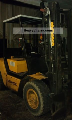 1989 Steinbock  SX50 Forklift truck Front-mounted forklift truck photo