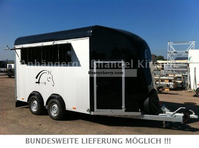 2011 Cheval Liberte  4004 4-horse OPTIMAX NEW 3500 kg aluminum iki Trailer Cattle truck photo