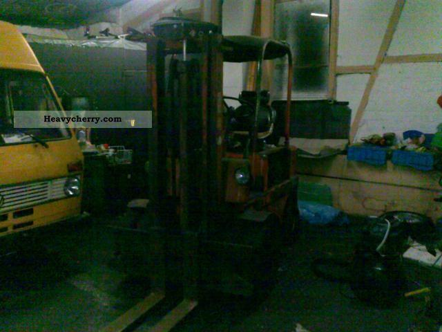 Front-mounted forklift truck, Forklift truck Commercial