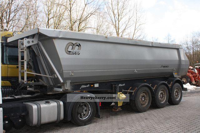 2008 Menci  Approximately 25m ³ Tipper SA700R Semi-trailer Tipper photo