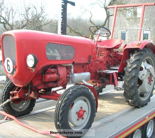 1960 Guldner  Güldner Burgundy A3K Agricultural vehicle Tractor photo