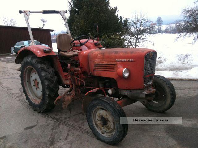1969 Guldner  Güldner G25S high-speed Agricultural vehicle Tractor photo