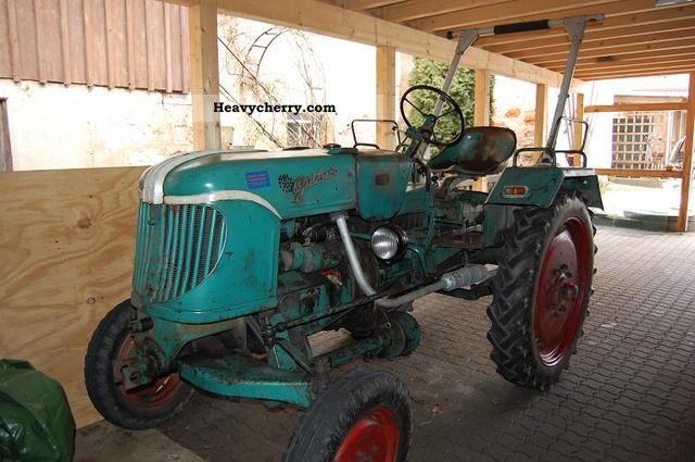 1953 Guldner  Güldner ADA8H Agricultural vehicle Tractor photo