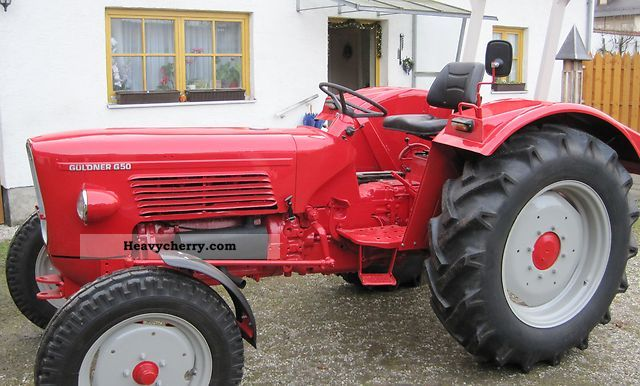 Guldner Guldner G50 S 2011 Agricultural Tractor Photo And Specs