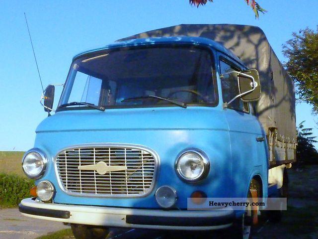 1980 Barkas  B 1000 HP Truck \u0026 hoops Van or truck up to 7.5t Stake body and tarpaulin photo