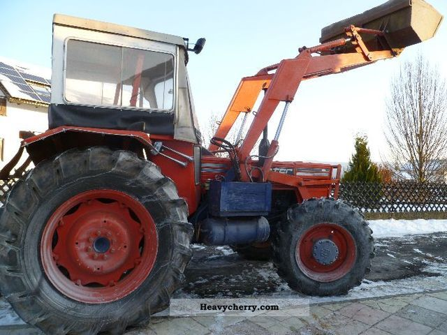 1975 Same  Panter-wheel loader + Industry + air Agricultural vehicle Tractor photo