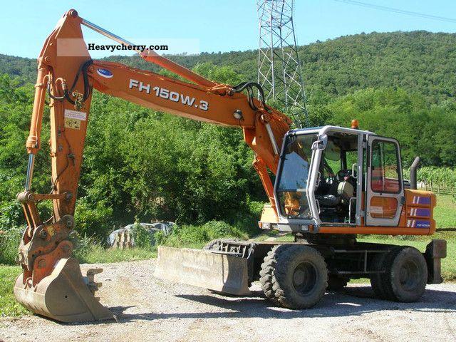 1999 Hitachi  FH 150 W.3 Construction machine Mobile digger photo