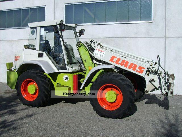 1999 CAT  Claas Ranger 945 GX! Telearm! Pfreundt balance! Construction machine Wheeled loader photo