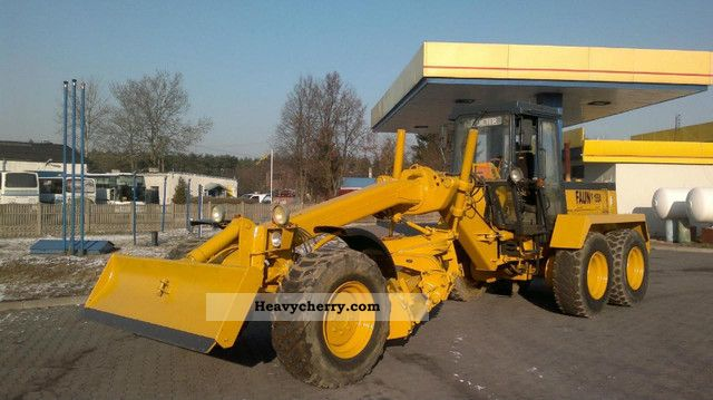 1989 Faun  155 A 6x6 Construction machine Grader photo