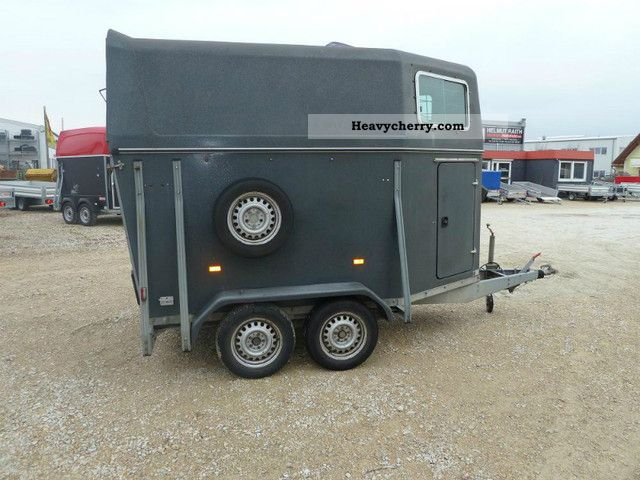1998 HKM  Big Boy Trailer Cattle truck photo