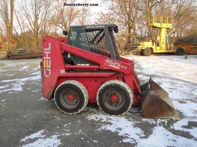Gehl 4625sx 1997 Wheeled Loader Construction Equipment