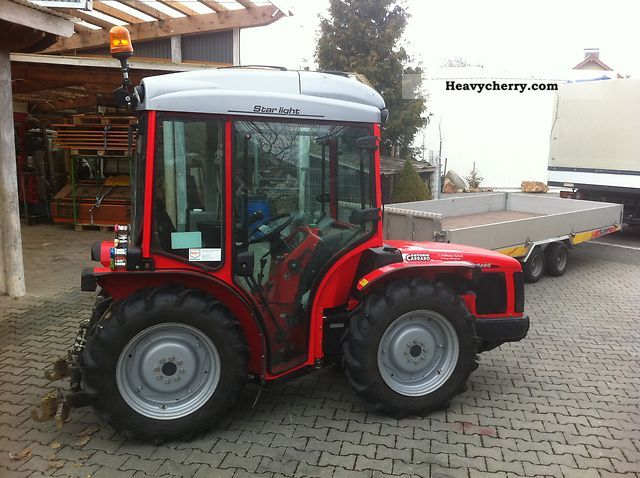 2007 Carraro  SRX 8400 Agricultural vehicle Tractor photo