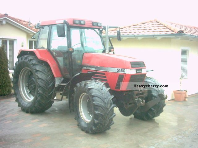 1995 Case  5150 Agricultural vehicle Tractor photo