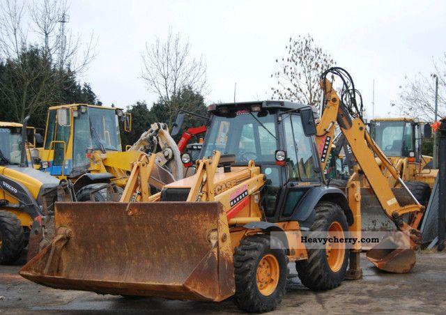 2001 Case  580 LPS Construction machine Combined Dredger Loader photo