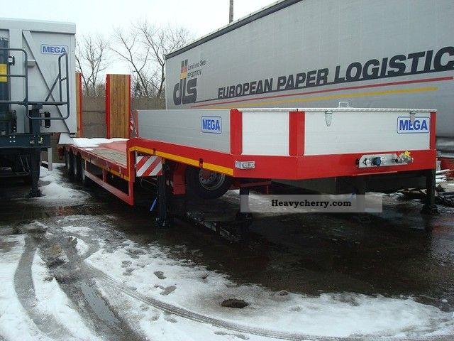 2012 MEGA  Naczepa Niskopodwoziowa 3 Osiowa NACZEPA NISKOPO Semi-trailer Low loader photo