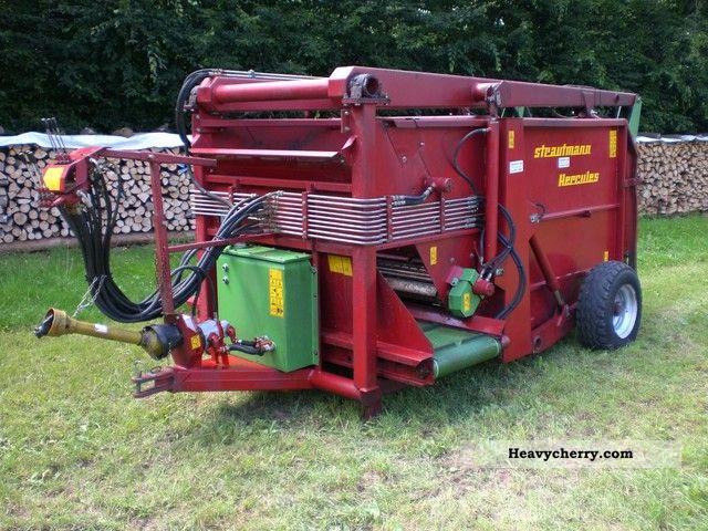 1999 Strautmann  Hercules 400 Vibra Cut Agricultural vehicle Other agricultural vehicles photo