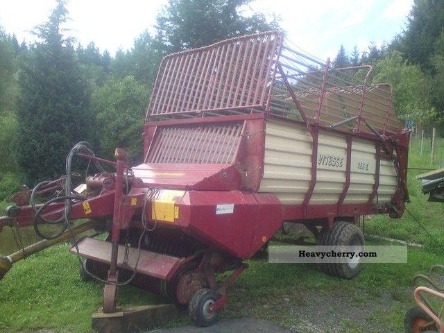 1995 Strautmann  Vitesse 185E Agricultural vehicle Harvesting machine photo