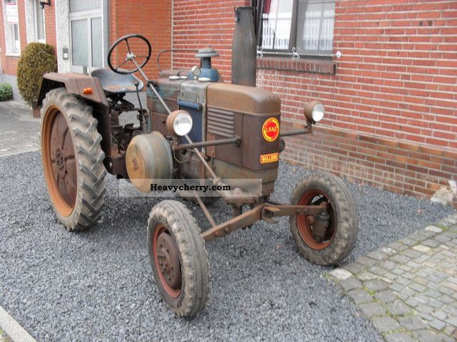 1954 Lanz  D2206 Agricultural vehicle Tractor photo