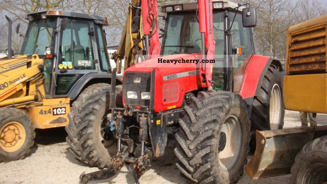 2003 Agco / Massey Ferguson  6290 TYPE: AIR TRACTOR LOADER F 18 Agricultural vehicle Tractor photo