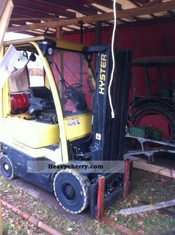 2006 Hyster  1.6 Fortens (triplex + page slide) Forklift truck Front-mounted forklift truck photo