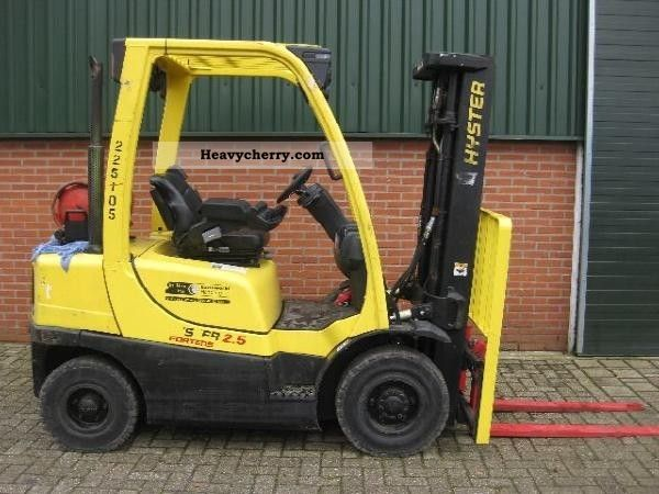 2006 Hyster  H 2.5FT gas Forklift truck Other forklift trucks photo
