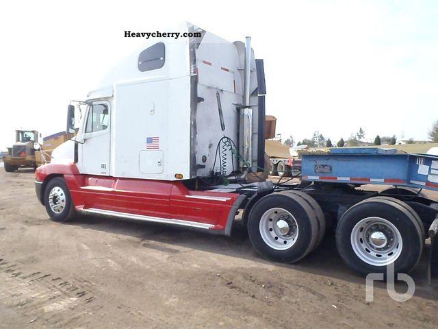 Freightliner Tractor Weight : Freightliner c standard tractor trailer unit photo