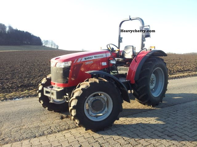 2010 Agco / Massey Ferguson  3625 NEW VEHICLE Agricultural vehicle Tractor photo