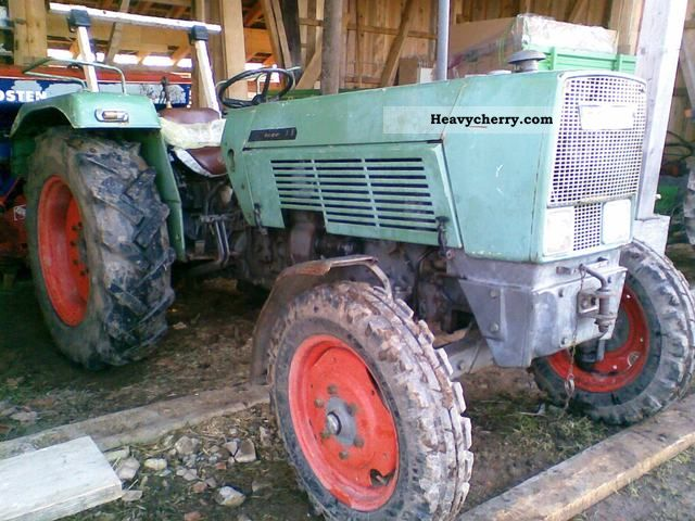 fendt farmer 3s 1968 agricultural tractor photo and specs. Black Bedroom Furniture Sets. Home Design Ideas