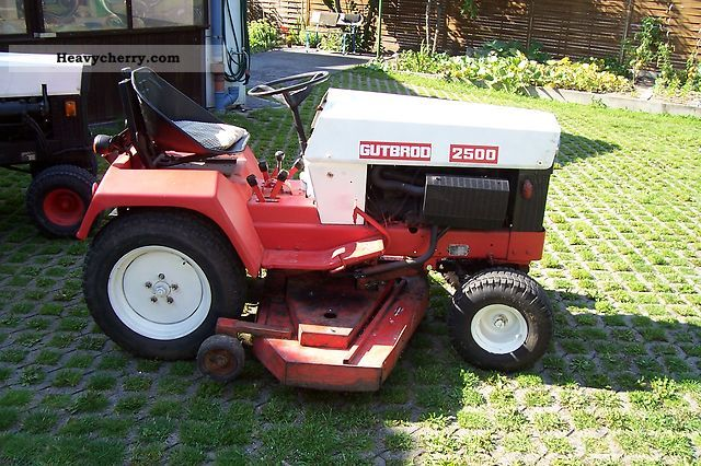 Gutbrod 2500 2011 Other Agricultural Vehicles Photo And Specs