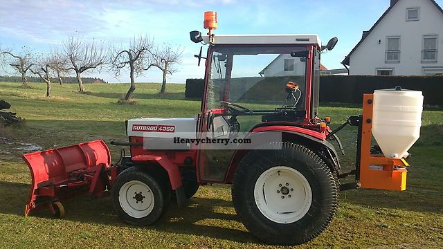 1992 Gutbrod  4350 four-wheel drive, Front linkage, Front pto, Cab Agricultural vehicle Tractor photo