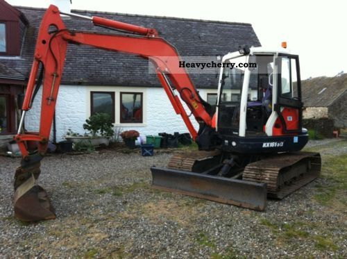 2005 Kubota  161-3a Construction machine Mini/Kompact-digger photo