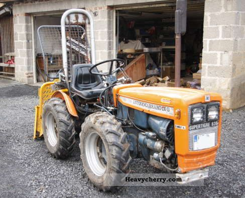 2011 Carraro  Supertigre 635 Agricultural vehicle Tractor photo