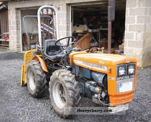 2011 Carraro  Supertigre 635 Agricultural vehicle Tractor photo