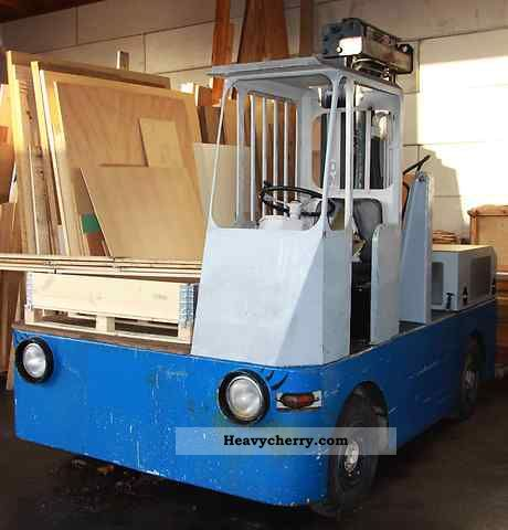 1975 Irion  DFQ 30 14 Forklift truck Side-loading forklift truck photo