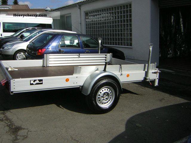 Koch smart trailer small car trailer 2003 car carrier for Koch automobile