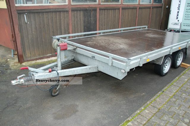 2010 Atec  APL 25 Trailer Car carrier photo