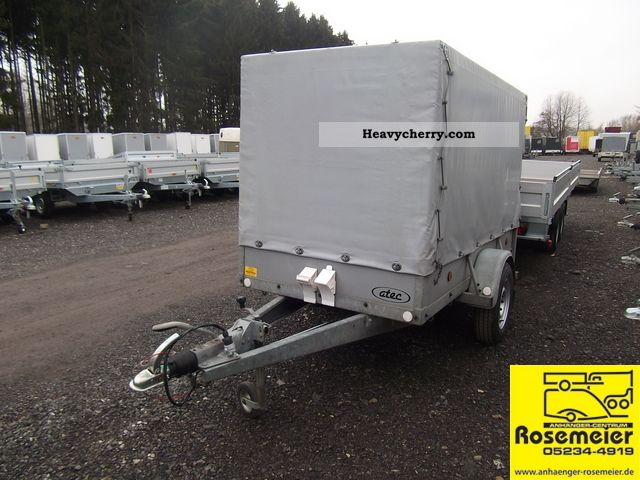2003 Atec  Bed trailer with tarpaulin Trailer Trailer photo