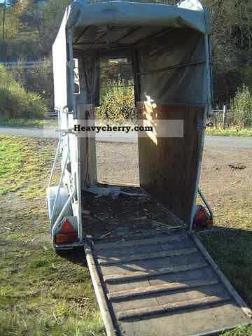 1975 Klagie  Horse trailer / transporter cattle Trailer Cattle truck photo