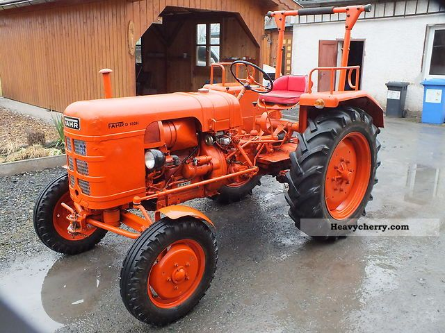 1959 Fahr  D 180 H Agricultural vehicle Tractor photo